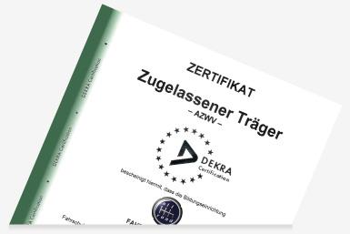 Zertifikat FAHRSCHULE allroad Berlin